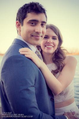 Windsor Yacht Club Wedding Gina and Sat by Mara www.villabelmara.com