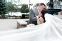 Pointe West Golf Club Amherstburg Wedding Cottam feat Lind and Chad-602