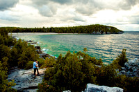 Tobermory Bruce Peninsula Engagement feat. Linda and Chad