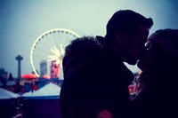Niagara Falls Skywheel Engagement with Elizabeth and Mike
